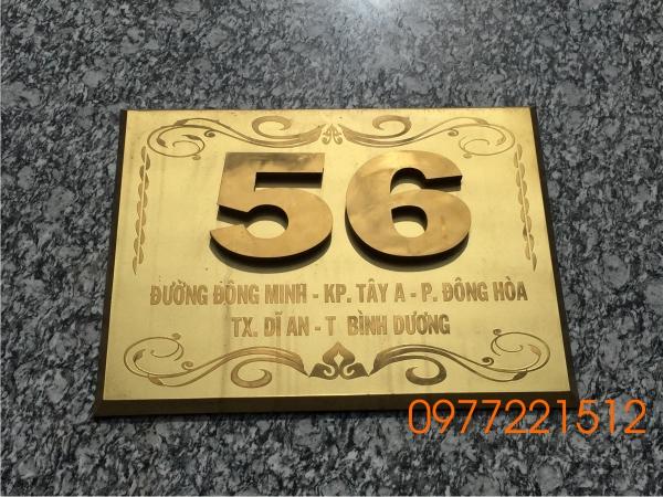 Bang so nha inox gia re Binh Duong
