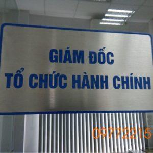 Làm bảng tên phòng ban tại TPHCM