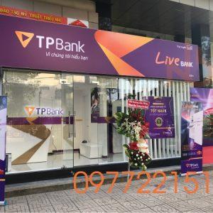 Bảng Hiệu Quảng Cáo Decal Của Ngân Hàng TPBank tại TPHCM