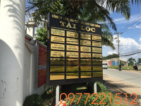 Bảng hiệu công ty Tài Lộc tại Quận 9 - TPHCM